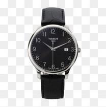 天梭俊雅系列皮带石英手表
