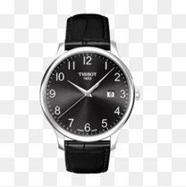 天梭俊雅系列大表盘石英手表