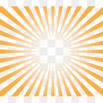 金色放射光