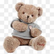 棕色熊公仔娃娃