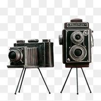 照相机复古模型
