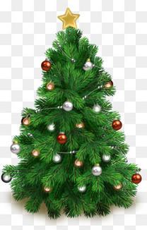 圣诞树矢量免费素材下载