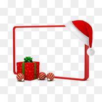 圣诞节边框元素