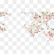 零散的树叶图片素材