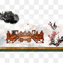 中国古典家具艺术素材