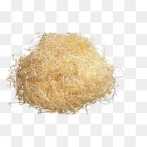 黄色木屑PNG免抠素材