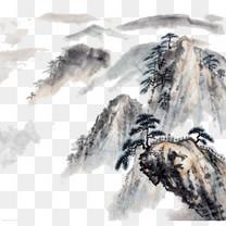 优美江南山水风景图