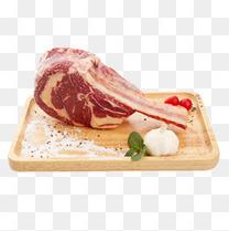 进口原切带骨眼肉牛排