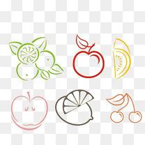各种水果简笔画