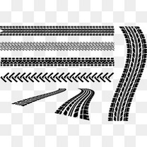 矢量图刹车印