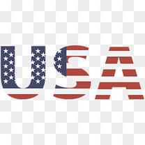美国国旗USA矢量图形