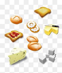 面包扁平化图片PSD素材