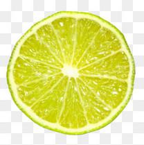 青涩的柠檬片