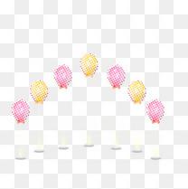 拱形气球组合