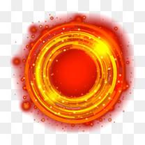 红色数码光环