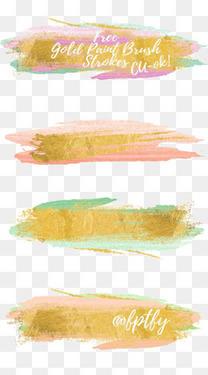 彩色水墨装饰