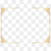 矢量中式奢华框