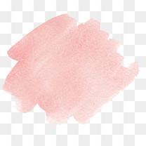 粉色斜条泼墨