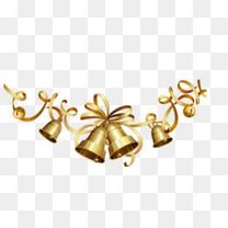 圣诞铃铛背景装饰