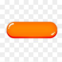 橙色水晶按钮