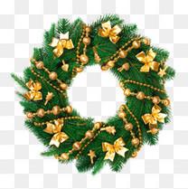 高清圣诞花环