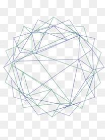 矢量抽象几何体太阳背景