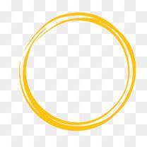 黄色圆圈背景底纹