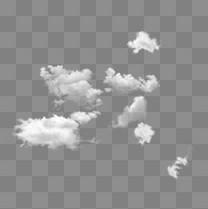漂浮的云朵