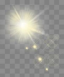 炫酷金色太阳旭日阳光