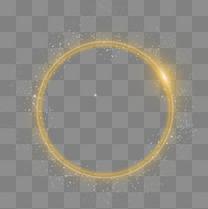 高清金色光圈