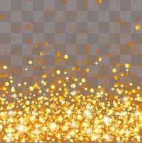金色光点光斑