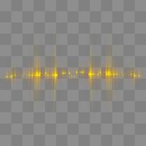 黄色粒子光效