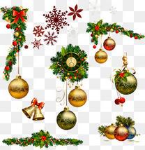 圣诞树雪花铃铛装饰大集合