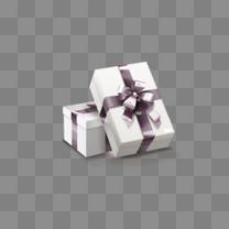 紫色的礼物盒