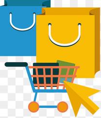 黄色蓝色在线购物