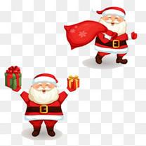 圣诞老人拿礼物