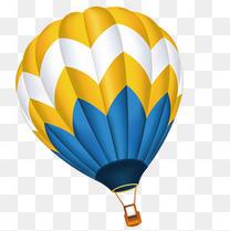 热气球矢量