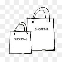 简约购物袋