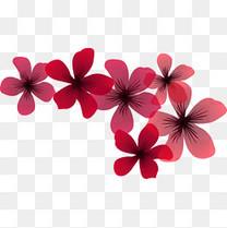点缀的小碎花
