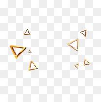 漂浮三角块