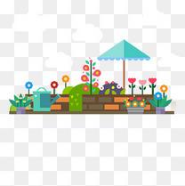 矢量小花园