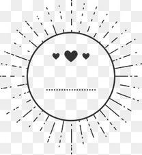 矢量创意设计太阳爱心图
