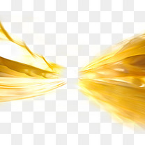 金色流光飞舞
