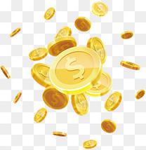 漂浮的金币