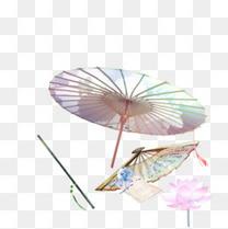 伞下信与花
