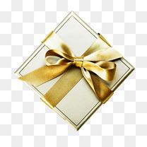 金色大气礼盒礼物装饰图案