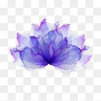 紫色炫彩底纹背景