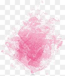粉色色块设计