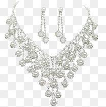 奢华高贵珍珠项链耳坠