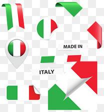 意大利国旗图案矢量